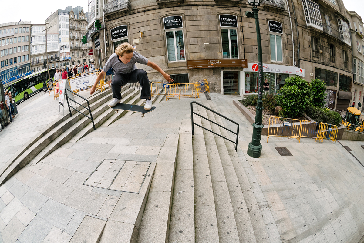 Marius Syvanen Ollie to Hill Bomb | Photo: John Mehring